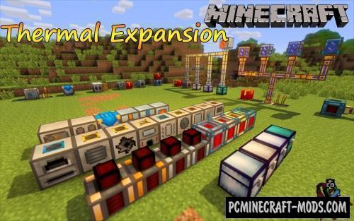 Thermal Expansion - Technology Mod For Minecraft 1.16.5, 1.12.2