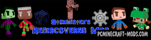 Rediscovered - Deleted Content Mod Minecraft 1.16.5, 1.16.4