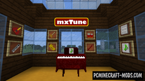 mxTune - Musical Tools Mod For Minecraft 1.12.2