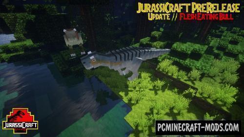 JurassiCraft - Creatures Mod For Minecraft 1.12.2, 1.11.2, 1.7.10