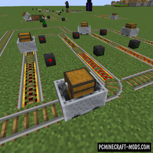 Signals Mod For Minecraft 1.12.2, 1.10.2, 1.9.4