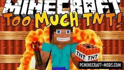 Too Much TNT Mod For Minecraft 1.8, 1.7.10