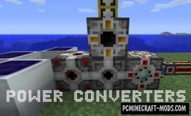 Power Converters - Tech Tweak Mod For Minecraft 1.7.10