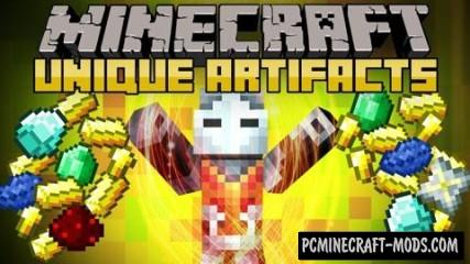 Unique Artifacts Mod For Minecraft 1.7.10, 1.7.2, 1.6.4, 1.5.2