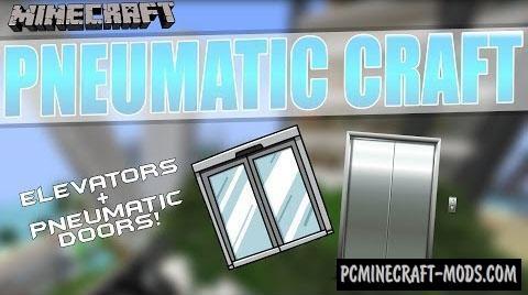 PneumaticCraft Mod For Minecraft 1.8.9, 1.7.10, 1.6.4
