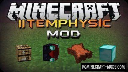 ItemPhysic Mod For Minecraft 1.12.2, 1.11.2, 1.10.2, 1.8.9
