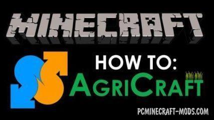 AgriCraft Mod For Minecraft 1.12.2, 1.10.2, 1.8.9, 1.7.10