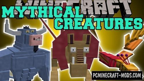 MLP Mythical Creatures Mod For Minecraft 1.7.10