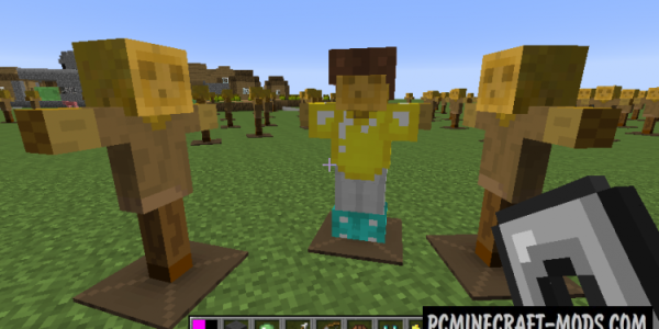 Test Dummy Mod For Minecraft 1.12.2, 1.11.2, 1.10.2, 1.9.4