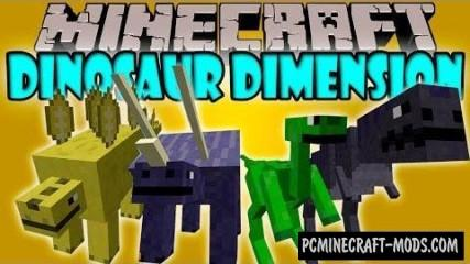 Dinosaur Dimension Mod For Minecraft 1.7.10