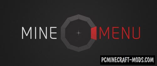 MineMenu Mod For Minecraft 1.13.2, 1.12.2, 1.11.2, 1.10.2