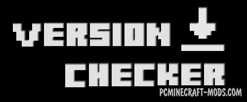Version Checker - GUI Mod For Minecraft 1.9.4, 1.8.9, 1.7.10