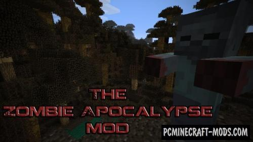 The Zombie Apocalypse - Adventure Mod For Minecraft 1.8.9