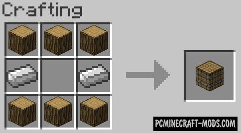 Barrels Mod For Minecraft 1.9, 1.7.10, 1.6.4