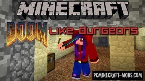 Doomlike Dungeons Mod For Minecraft 1.12.2, 1.11.2, 1.10.2, 1.7.10