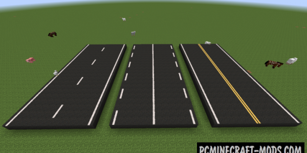 Road Stuff - Decor Mod For Minecraft 1.16.5, 1.14.4