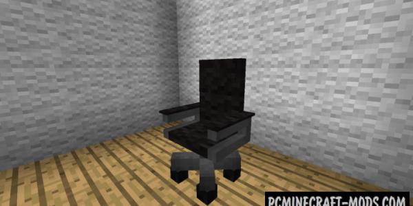 MrCrayfish's New Furniture Decor Mod For Minecraft 1.14.4