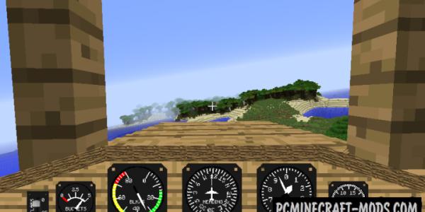 Flight Simulator Mod For Minecraft 1.10.2, 1.9.4, 1.8.9