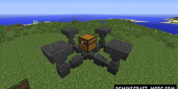 Hopper Ducts - Tech Mod For Minecraft 1.12.2, 1.8.9, 1.7.10