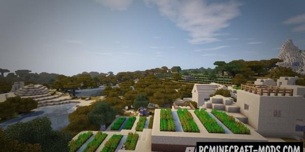 Biome Bundle Mod For Minecraft 1.12.2, 1.11.2, 1.10.2, 1.7.10
