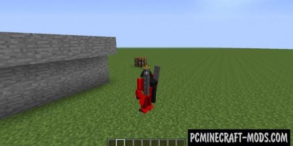 Transformers - Armor, Guns Mod For Minecraft 1.7.10