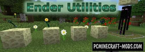 Ender Utilities - Weapons, Tools Mod For Minecraft 1.12.2