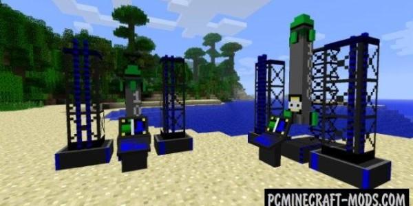 ICBM - Guns, Weapons, New Blocks Mod For Minecraft 1.7.10