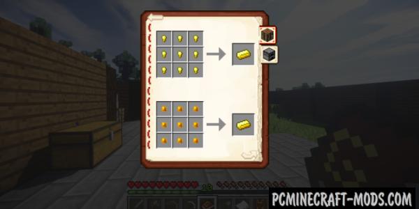 GuideBook - Info, Tweaks Mod Minecraft 1.16.4, 1.15.2, 1.12.2