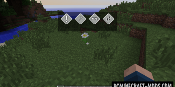 Ping - GUI, Tweak Mod For Minecraft 1.16.5, 1.16.4, 1.12.2