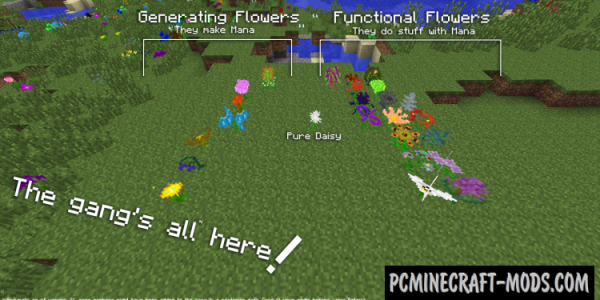 Botania - Technology Mod For Minecraft 1.14.4, 1.12.2