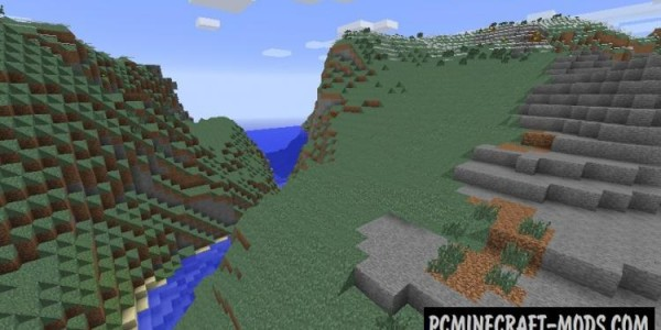 No Cubes - Shaders Mod For Minecraft 1.7.10, 1.7.2