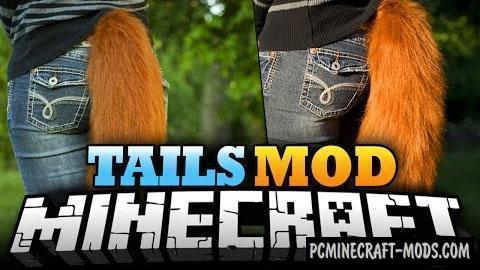 Tails Mod For Minecraft 1.12.2, 1.11.2, 1.10.2, 1.7.10