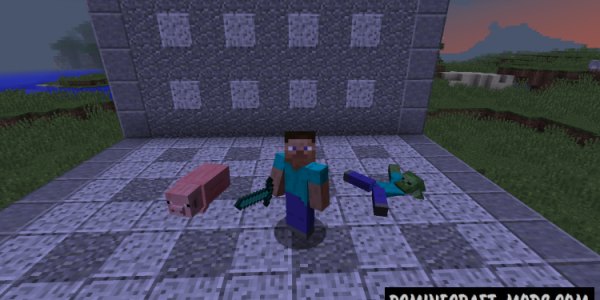 Ragdoll Corpses Mod For Minecraft 1.8, 1.7.10