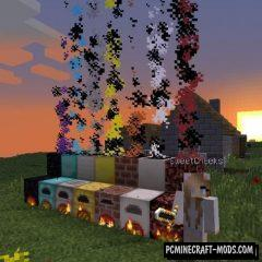 Advanced Chimneys - Decor Tweak Mod MC 1.16.5, 1.12.2