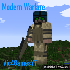 Vic's Modern Warfare Mod For Minecraft 1.12.2, 1.11.2, 1.10.2, 1.9.4