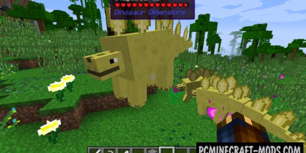 Dinosaur Dimension Mod For Minecraft 1.7.10