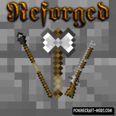 Reforged Mod For Minecraft 1.12.2, 1.11.2, 1.10.2, 1.9.4