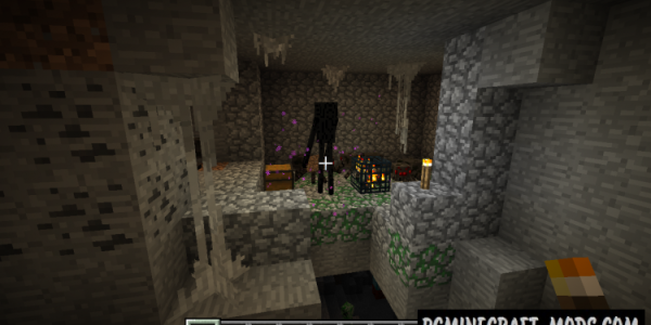 Wild Caves Mod For Minecraft 1.8, 1.7.10, 1.6.4