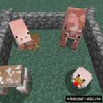 Sliced Mod For Minecraft 1.12.2, 1.7.10