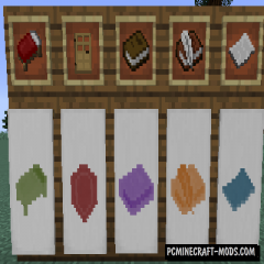 Additional Banners - Decor Mod For Minecraft 1.16.5, 1.12.2