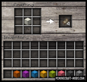 Craftable Leather and String - Tweak Mod For MC 1.8.9