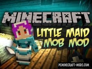 LittleMaidMob Mod For Minecraft 1.12.2, 1.8.9, 1.8, 1.7.10