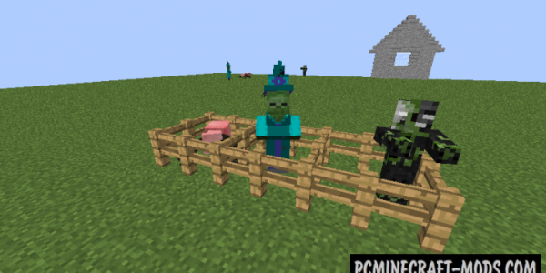 Random Mobs - New Monsters Mod For Minecraft 1.7.10