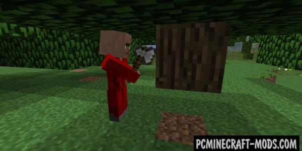 Helpful Villagers - Adv, Tweak Mod For Minecraft 1.7.10