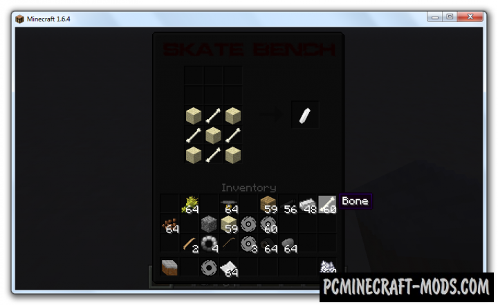 Skateboard - Vehicle Mod For Minecraft 1.8.9, 1.8, 1.6.4