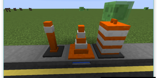 Road - Decoration Materials Mod For Minecraft 1.8.9, 1.8