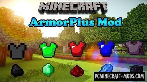 Armor Plus Mod For Minecraft 1.16.5, 1.16.4, 1.12.2, 1.8.9