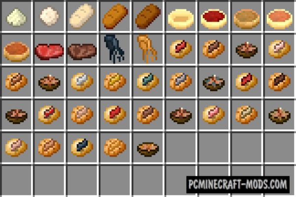 Larry's - Armor, Weapons, Food Mod For Minecraft 1.8.9