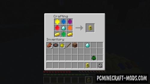 Infinity Gauntlet - Magic, Weapon Mod Minecraft 1.8.9, 1.7.10