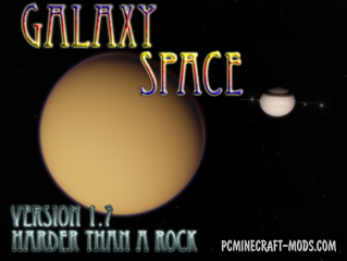 Galaxy Space [Addon for GalactiCraft3] Mod For Minecraft 1.12.2, 1.7.10